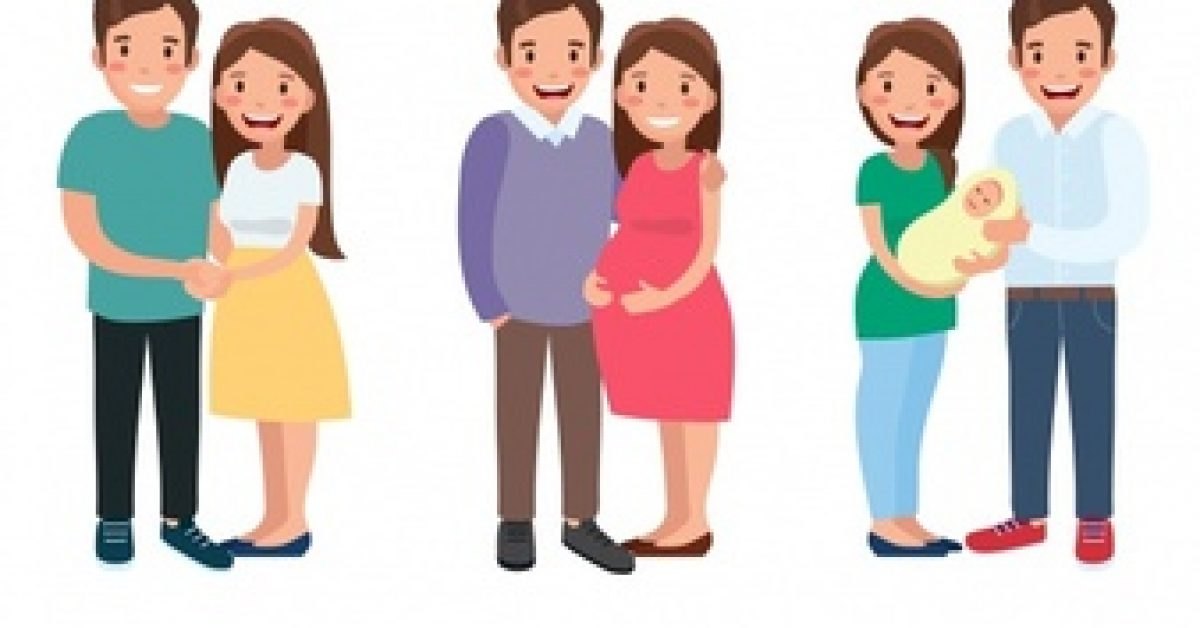 happy-family-different-life-stages-with-flat-design_23-2147831734